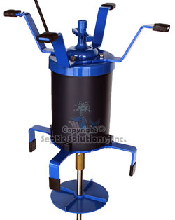 Ultra air model 735 product features for Septic tank aerator motor
